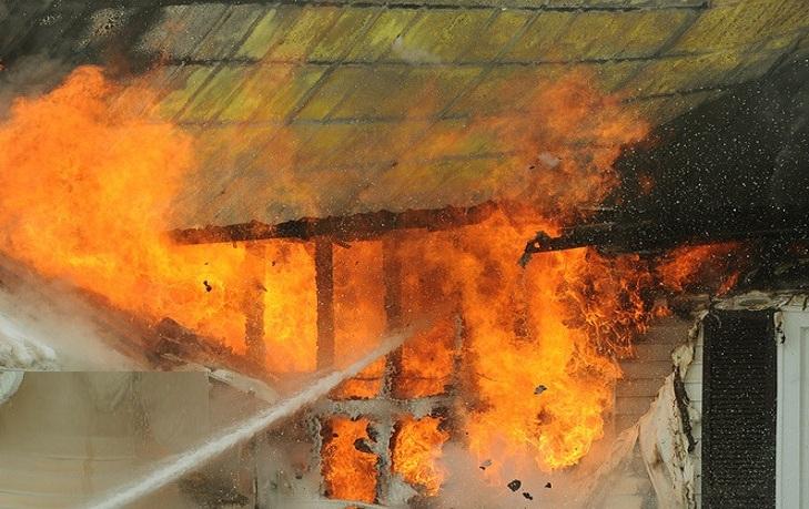 incendiu în Mitrofani