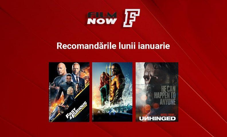 Film Now marchează începutul lui 2021 cu două premiere TV în România: Hobbs & Shaw și Furie la volan