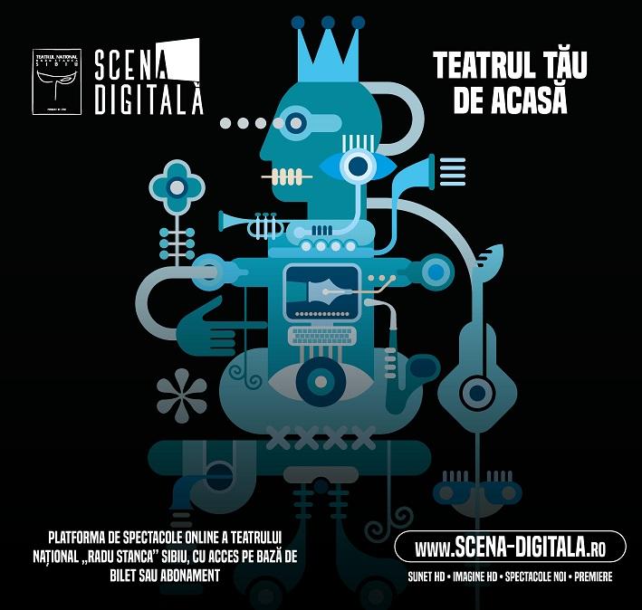 Teatrul Național Radu Stanca Sibiu a lansat serviciul de abonamente pentru vizionarea producțiilor online