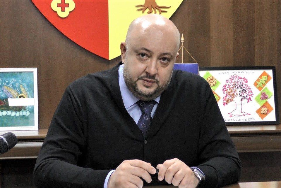 președintele CJ Vâlcea,Constantin Rădulescu