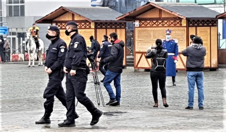 Jandarmii vâlceni au asigurat ordinea publică la manifestările prilejuite de Mica Unire