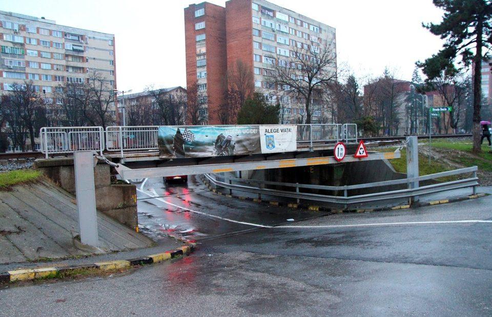 Râmnicu Vâlcea Canalizarea pluvială din pasajul Dacia a făcut faţă cu succes ploilor abundente din ultimele zile