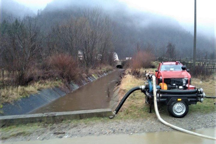 Vâlcea COD PORTOCALIU HIDRO pe râul Olt în aval și amonte