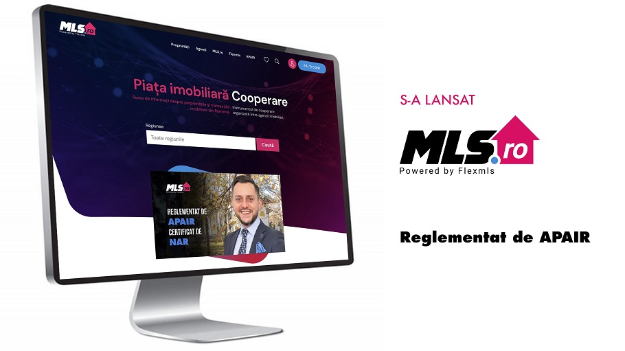 MLS.ro, un serviciu performant de informare și cooperare pe piața imobiliară din România, reglementat de APAIR