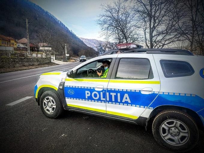 Vitezomanii în vizorul politistilor rutieri din cadrul IPJ Vâlcea