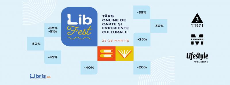 Grupul Editorial Trei va invita la targul de carte LibFest 2021