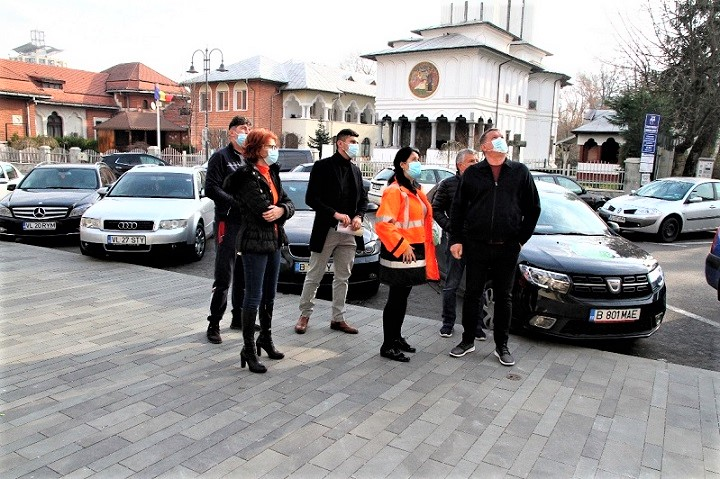 Zona centrala a municipiului Ramnicu Valcea isi schimba infatisarea